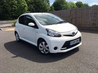 2014 TOYOTA AYGO 1.0 VVT-I MOVE WITH STYLE MM 5d AUTO 68 BHP £5800.00