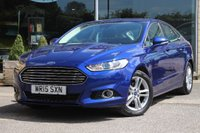 USED 2015 15 FORD MONDEO 1.5 EcoBoost Titanium 5dr (start/stop) Nortree Approved Vehicle