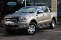 USED 2016 16 FORD RANGER 2.2 TDCi Limited 2 Double Cab Pickup 4x4 4dr Nortree Approved Vehicle