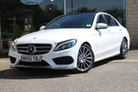 USED 2015 65 MERCEDES-BENZ C CLASS C Class 2.1 C300h AMG Line (Premium) 4dr (start/stop) Nortree Approved Vehicle