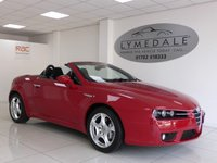 USED 2007 57 ALFA ROMEO SPIDER 2.4 JTDM  200 BHP Super Stylish In Exceptional Condition  - With Full Dealer History & 12 Mths MOT