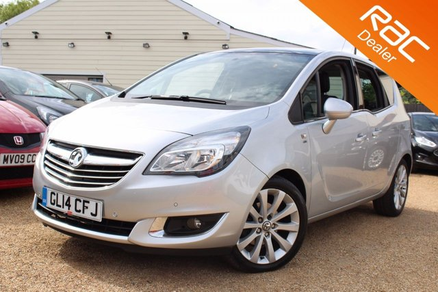 View our 2014 14 VAUXHALL MERIVA 1.4 SE 5d AUTO 118 BHP