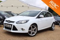 USED 2012 62 FORD FOCUS 1.0 TITANIUM 5d 124 BHP Bluetooth, Sony stereo & more