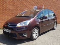 USED 2007 57 CITROEN C4 PICASSO 2.0 5 EXCLUSIVE I 16V EGS 5d AUTO TOP OF THE RANGE