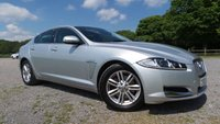 USED 2012 62 JAGUAR XF 2.2 D LUXURY 4d AUTO 190 BHP F/S/H, LEATHER TRIM, SAT-NAV, CRUISE CONTROL, REAR PARKING CAMERA, PARKING SENSORS, CD PLAYER, ABS,CHOICE OF 2
