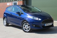 2014 FORD FIESTA 1.6 ZETEC 3d AUTO 104 BHP £7750.00