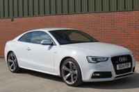 2014 AUDI A5 2.0 TDI QUATTRO S LINE BLACK EDITION S/S 2d AUTO 174 BHP £18950.00