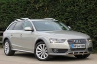 USED 2014 64 AUDI A4 ALLROAD 2.0 TDI DIESEL QUATTRO AUTO 5 DOOR 174 BHP AA DEALER PROMISE, DRIVE AWAY TODAY
