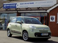 USED 2014 63 FIAT 500L 1.4 LOUNGE 5dr 95 BHP *ONLY 9.9% APR with FREE Servicing*