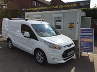2016 FORD TRANSIT CONNECT    2016  YEAR  1.6 TDCI 200 LIMITED, 115 BHP, SWB, TOP SPEC, ONE OWNER, ONLY 17,000 MLS! ROOF BARS, CLIMATE, AIR CON, CRUISE, FORD SYNC, MAIN DEALER WARRANTY UNTIL 01/2019 £11500.00
