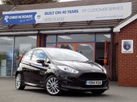 USED 2014 14 FORD FIESTA 1.0 ZETEC S 3dr 124 BHP *ONLY 9.9% APR with FREE Servicing*