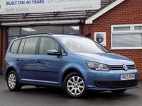 USED 2013 13 VOLKSWAGEN TOURAN 1.6 S TDi BLUEMOTION TECHNOLOGY 5dr 7 Seater *ONLY 9.9% APR with FREE Servicing*