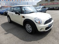 2010 MINI HATCH ONE 1.6 ONE D 3d 90 BHP £5995.00