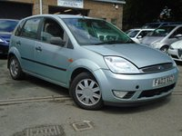 USED 2003 03 FORD FIESTA 1.4 GHIA 16V 5d 78 BHP MOT JAN 2018+CHEAP TO RUN