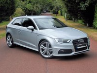 2014 AUDI A3 2.0 TDI S Line 3dr LOW MILES+£20 TAX JUST SERVICED+SAT NAV+REAR PRIVACY GLASS FINANCE ARRANGED ENQUIRE TODAY  £14495.00