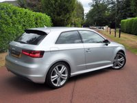 USED 2014 14 AUDI A3 2.0 TDI S Line 3dr LOW MILES+£20 TAX JUST SERVICED+SAT NAV+REAR PRIVACY GLASS FINANCE ARRANGED ENQUIRE TODAY  LOW MILE-NICE EXAMPLE-FSH+MORE