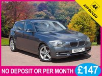 USED 2012 12 BMW 1 SERIES 1.6 116I SPORT 5dr PRICE CHECKED DAILY – WHY PAY MORE ??