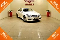 USED 2013 13 MERCEDES-BENZ E CLASS 2.1 E220 CDI BLUEEFFICIENCY SPORT 2d AUTO 170 BHP 1 PREV OWNER + FULL MERCEDES MAIN DEALER SERVICE HISTORY