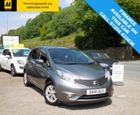 USED 2014 14 NISSAN NOTE 1.5 DCI ACENTA PREMIUM 5d 90 BHP A BEAUTIFUL ECONOMICAL CAR WITH FULL SERVICE HISTORY, LOW MILES AND LOADS OF SPEC!