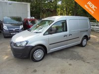 USED 2013 63 VOLKSWAGEN CADDY MAXI Maxi LWB 1.6 C20 TDI 102 BHP STARTLINE*DIRECT VW*