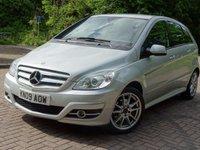2009 MERCEDES-BENZ B CLASS 2.0 B200 CDI SPORT 5d AUTO 140 BHP £5844.00