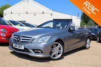 USED 2011 61 MERCEDES-BENZ E CLASS 3.0 E350 CDI BLUEEFFICIENCY SPORT ED125 2d AUTO 265 BHP Sat Nav, Xenons, Heated Seats