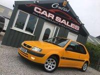 1999 CITROEN SAXO 1.4 WEST COAST 3d 75 BHP £1295.00