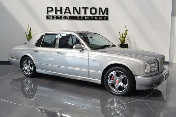 2000 X BENTLEY ARNAGE 6.8 RED LABEL 4d 401 BHP