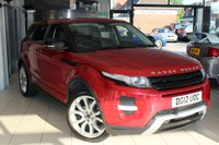 USED 2012 12 LAND ROVER RANGE ROVER EVOQUE 2.0 Dynamic 5d AUTO 240 BHP FULL LAND ROVER SERVICE HISTORY + FULL LEATHER SEATS + SAT NAV + PANORAMIC ROOF + BLUETOOTH + REVERSE CAMERA + 20 INCH ALLOYS + HEATED SEATS + CRUISE CONTROL + ELECTRIC TAILGATE