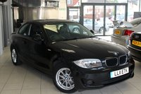 USED 2011 11 BMW 1 SERIES 2.0 118D ES 2d 141 BHP ANTHRACITE BLACK CLOTH SEATS + REAR PARKING SENSORS + 16 INCH ALLOYS + CLIMATE CONTROL + ELECTRIC WINDOWS