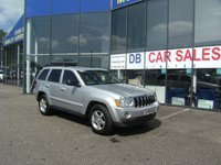 USED 2008 08 JEEP GRAND CHEROKEE 3.0 V6 CRD LIMITED 5d AUTO 215 BHP £0 DEPOSIT, LOW RATE FINANCE ANYONE, DRIVE AWAY TODAY!!