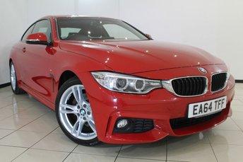 2014 BMW 4 SERIES 2.0 420D M SPORT 2DR 181 BHP £18470.00
