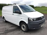 USED 2013 VOLKSWAGEN TRANSPORTER 2.0 T30 TDI 1d 102 BHP ONE OWNER FROM NEW, WARRANTED MILES