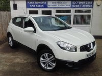 USED 2013 13 NISSAN QASHQAI 1.5 ACENTA DCI 5d 110 BHP 47K FSH    ONE FAMILY OWNER    EXCELLENT CONDITION THROUGHOUT