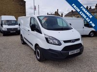 USED 2015 65 FORD TRANSIT CUSTOM 290 100PS L1 H1 VAN  ONE OWNER - FSH - ONLY 45,000m
