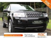 USED 2010 60 LAND ROVER FREELANDER 2 2.2 TD4 GS 5d 150 BHP ONLY ONE PREVIOUS OWNER FROM NEW AND A FULL SERVICE HISTORY!!!