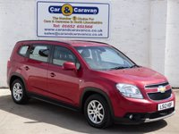 USED 2012 12 CHEVROLET ORLANDO 2.0 LT VCDI 5d 130 BHP Low mileage Full Hpi Clear 0% Deposit Finance Available