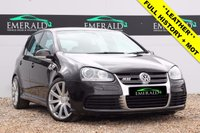 USED 2007 07 VOLKSWAGEN GOLF 3.2 R32 DSG 5d AUTO 250 BHP **£0 DEPOSIT FINANCE AVAILABLE**SECURE WITH A £99 FULLY REFUNDABLE DEPOSIT** FULL SERVICE HISTORY, 12 MONTHS MOT, FULL LEATHER UPHOLSTERY + HEATED FRONT SEATS, REVERSE PARKING SENSORS, DUAL CLIMATE CONTROL + ELECTRIC WINDOWS