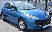 USED 2007 57 PEUGEOT 207 1.4 MPLAY 3d 73 BHP * LOW TAX GROUP - MASSIVE MPG *