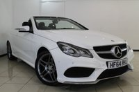 USED 2014 64 MERCEDES-BENZ E CLASS 2.1 E220 BLUETEC AMG LINE 2DR AUTOMATIC 174 BHP MERCEDES BENZ SERVICE HISTORY + 0% FINANCE AVAILABLE T&C'S APPLY + HEATED LEATHER SEATS + CLIMATE CONTROL + SAT NAVIGATION + PARKING SENSORS + BLUETOOTH + CRUISE CONTROL