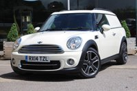 USED 2014 14 MINI CLUBVAN 1.6 TD Cooper D 5dr NORTREE APPROVED VEHICLE