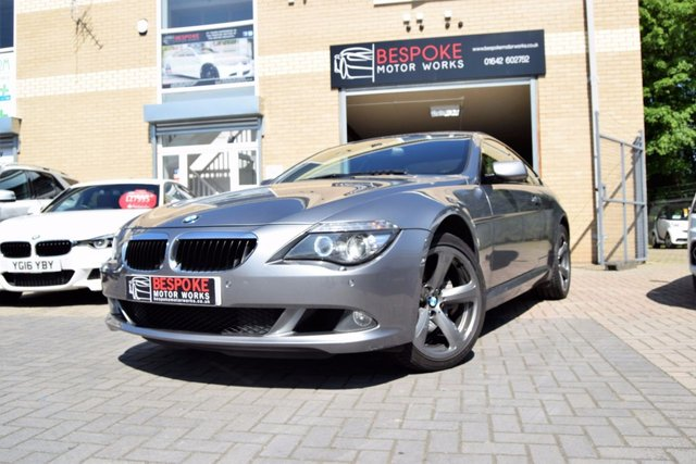 2007 57 BMW 6 SERIES 635D SPORT 3.0 TWIN TURBO AUTOMATIC COUPE