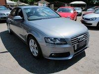 2010 AUDI A4 1.8 TFSI SE 4d 160 BHP SUPER LOW MILES + PETROL ! £7999.00