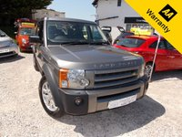 2007 LAND ROVER DISCOVERY 2.7 3 TDV6 XS 5d 188 BHP £7595.00