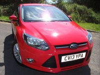 USED 2013 13 FORD FOCUS 1.6 ZETEC TDCI 5d 113 BHP  ** DIESEL,  �£20 ROAD TAX **