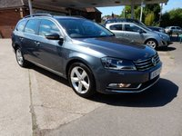 USED 2012 12 VOLKSWAGEN PASSAT 1.6 SE TDI BLUEMOTION TECHNOLOGY 5d 104 BHP FULL HISTORY,TWO KEYS,AIR CON,CHEAP TO RUN