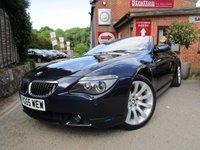 2006 BMW 6 SERIES 4.8 650I SPORT 2d 363 BHP £11000.00