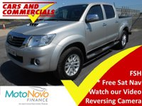 2014 TOYOTA HI-LUX Double Cab Invincible 3.0 D-4D 4WD 171ps AUTO £13500.00