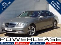 USED 2009 59 MERCEDES-BENZ S CLASS 3.0 S350 CDI BLUEEFFICIENCY 4d AUTO 235 BHP FULL MERCEDES HISTORY BLUETOOTH FRONT AND REAR PARKING SENSORS