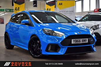 2017 FORD FOCUS 2.3 RS 5d 346 BHP £31500.00